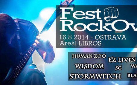 FestRockOva - pořádný rockový nářez v Ostravě