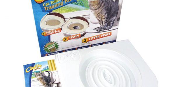 Tréninková toaleta pro kočky Citti Kitty - naučte svoji kočku chodit na Vaši toaletu!