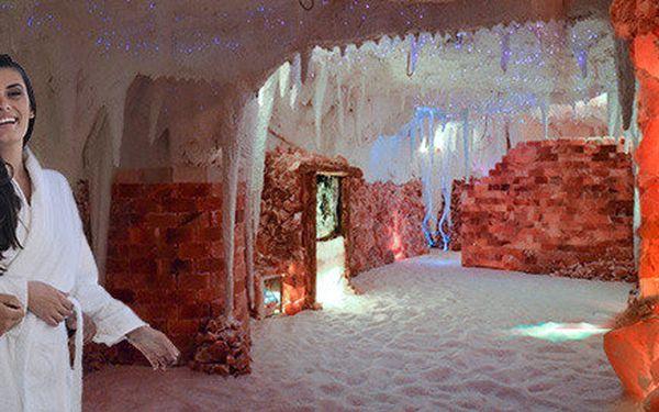 Vstup do solné jeskyně Sůl nad zlato (45 min)