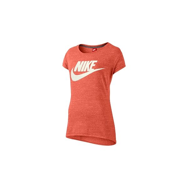 Nike GYM VINTAGE TEE oranžová M