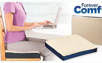 Velmi pohodlný polštář pro komfortní sezení v práci nebo během jízdy autem. Báječně pohodlný polštář Udělá Vaše posezení pohodlnějším a měkčím.