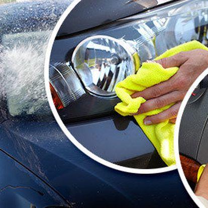 Ruční mytí vozu včetně kompletního čištění interiéru