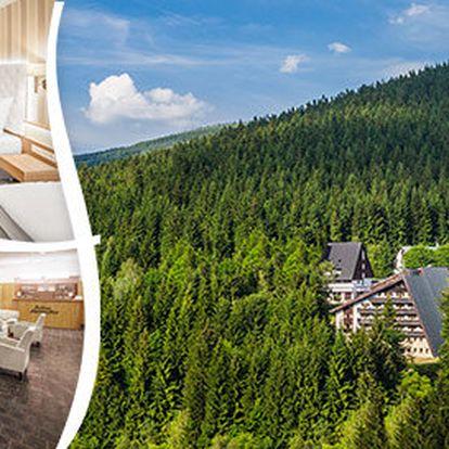 Pobyt s polopenzí v luxusním Pytloun hotelu**** Harrachov