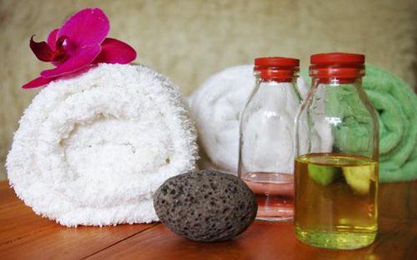 Hodinová masáž dle vlastního výběru. V nabídce je ruční lymfatická masáž, relaxační a regenerační masáž s éterickými oleji, Breussova masáž třezalkovým olejem nebo Havajská masáž Lomi-Lomi.