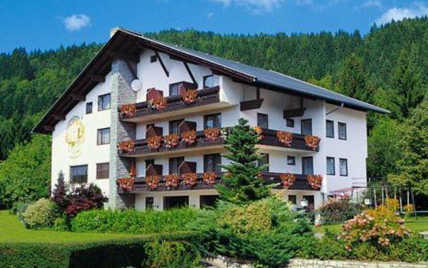 Rakousko, oblast Korutany, bez stravy na 8 dní