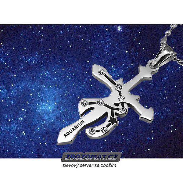 Přívěsek Abro Luxury souhvězdí ozdobí originálně váš dekolt!