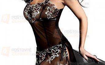 Romantická krajková noční košilka a kalhotky a poštovné ZDARMA! - 23011835