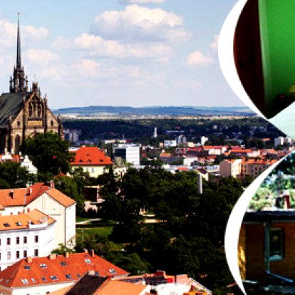 Moravský kras a Brno pro 4 osoby v Penzionu Kociánka v Brně
