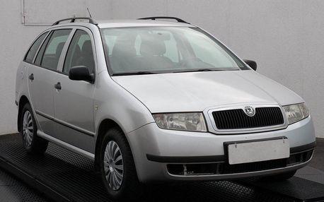 Škoda Fabia 1.4, ČR, zámek řazení
