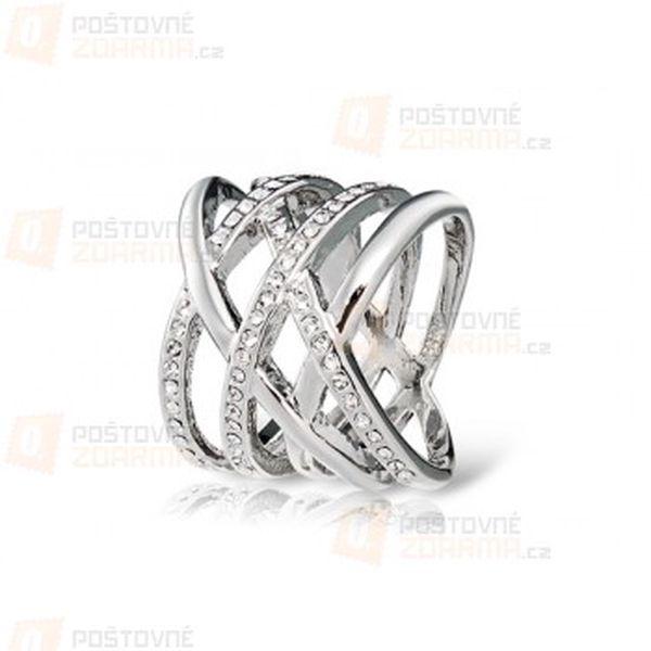 Proplétaný prstýnek ve 2 barvách a poštovné ZDARMA! - 22911958