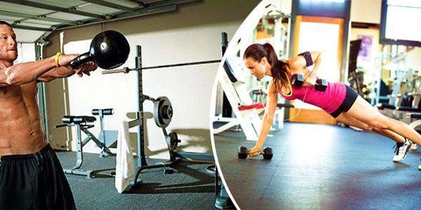 Dostaňte se do formy - permanentka na 10 vstupů do TruFlex fitness centra Karlovy Vary
