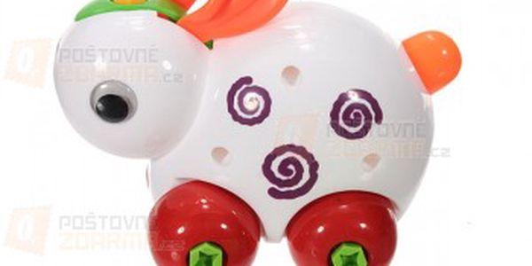Plastová hračka pro malé montéry a poštovné ZDARMA! - 23008635