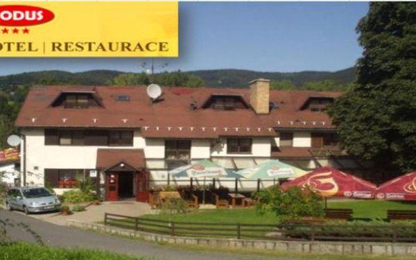 JESENÍK - oblíbený Hotel Nodus*** 1 noc s polopenzí pro 2 až do září. NUTNO KOUPIT ALESPOŃ 2 NOCI