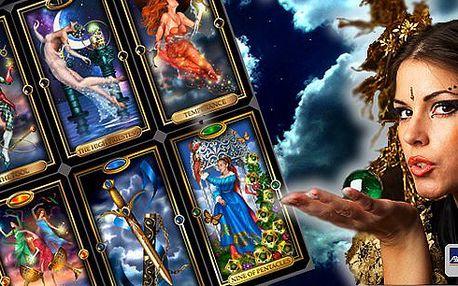 Výklad karet, výběr z výkladu karetního horoskopu na celý rok, partnerský výklad karet nebo výklad z karmických karet. Rádi byste věděli co Vás v životě i vztazích čeká?Využijte slevy na věštění od profesionální kartářky-věštkyně.