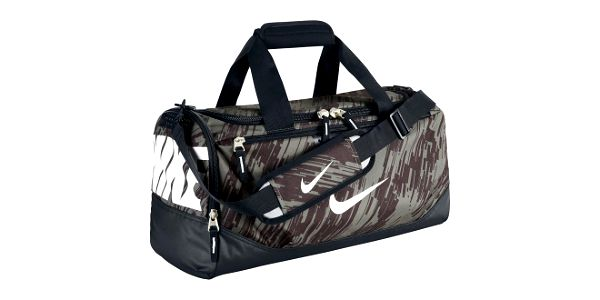 Nike TM TRAIN SM DUFFEL GRAPHC zelená