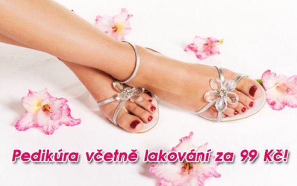 Kompletní mokrá PEDIKÚRA včetně LAKOVÁNÍ, změkčující lázně a jemné relaxační masáže nohou! Odlehčete svým nohám, pocítíte rozdíl! Profesionální pedikérka se postará o zdraví a krásu vašich nohou v salonu Beauty Glamour u stanice metra Anděl!