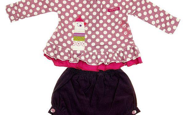 Dětská soupravička Lullaby - košilka a kraťásky