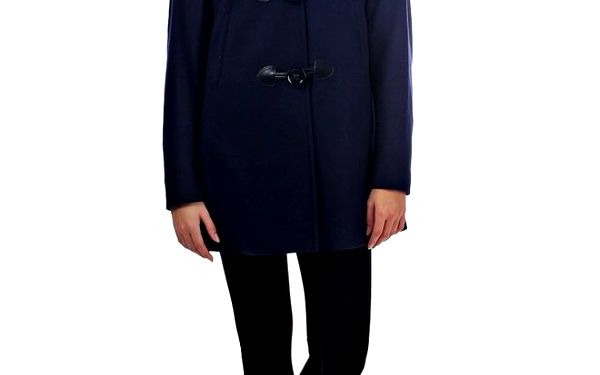 Dámský tmavě modrý kabát Killah