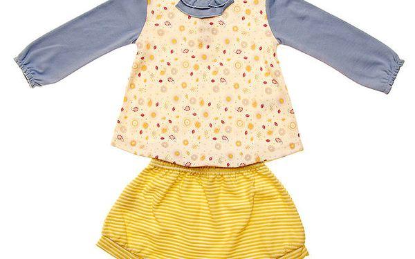 Kojenecká souprava Lullaby - tričko a kraťásky