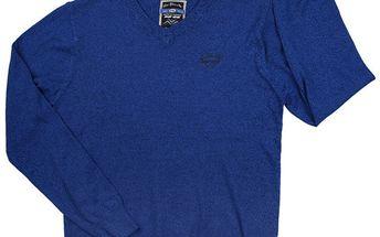 Pánský modrý svetr 98-86