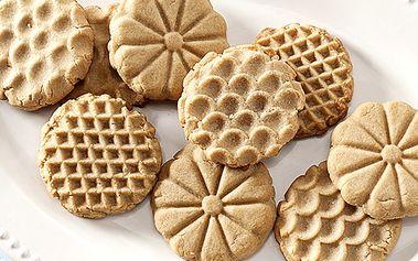 Razítka pro výrobu domácích sušenek od Nordic ware