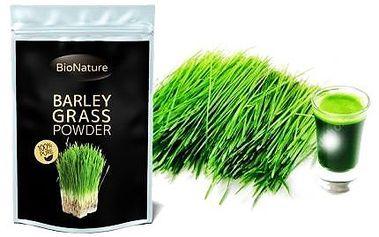 Mladý BIO Zelený ječmen - 200 gramů prášku pro detoxikaci