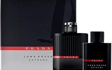 Prada Luna Rossa Extreme EDP dárková sada M - Edp 100ml + 100ml sprchový gel