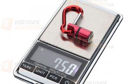 Digitální kapesní váha, 0,01 - 300 g a poštovné ZDARMA! - 23106935