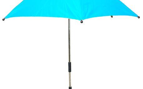Slunečník na kočárek UNI 70 cm - UV ochrana 50 - sv. modrý