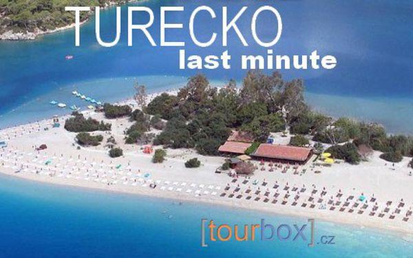Last minute Turecko, 8 dní s polopenzí nebo All Inclusive od 9 790 Kč! Stačí zaplatit 90 Kč za prebooking.