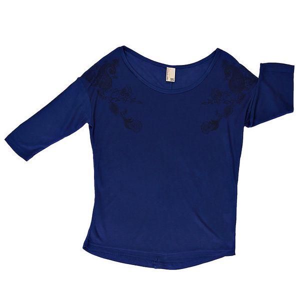 Dámské tmavě modré tričko s kulatým výstřihem Urban Surface