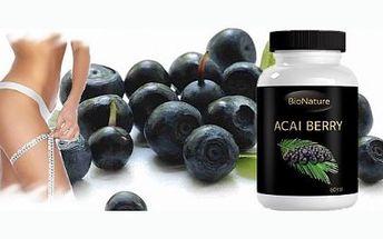 Přírodní antioxidant Acai Berry detoxikuje, pomáhá zhubnout a posiluje srdce! Hubněte, detoxikujte, posilujte imunitu a doplňujte důležité látky a vitamíny přirozenou přírodní cestou.