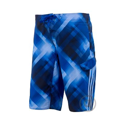 adidas PLAID WATERSHORT-LONG LENGTH M