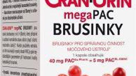 Barnys Cran-Urin megaPAC brusinky cps.30+10 ZDARMA