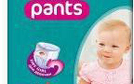 Pampers Active Pants MAXI dívčí 9-14kg JUMBO dětské pleny 52ks