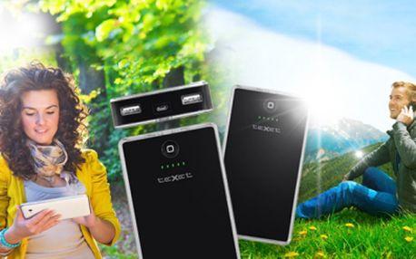 PŘENOSNÁ BATERIE (powerbank) s obří kapacitou 10.000 mAh za 649 Kč! Díky téhle vychytávce se Vám už nikdy nestane, že se Vám vybije TELEFON, TABLET, MP3-PŘEHRÁVAČ či ČTEČKA! Nabíjecí konektory i pro nejnovější modely Apple!