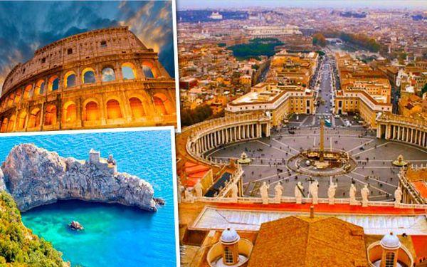 Poznávací zájezd do Říma ana ostrov Capri!