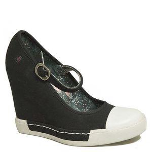 Dámské boty na platformě v černé barvě Rock and Candy by Zigi