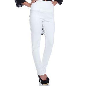 Dámské krémové kalhoty s puky SforStyle