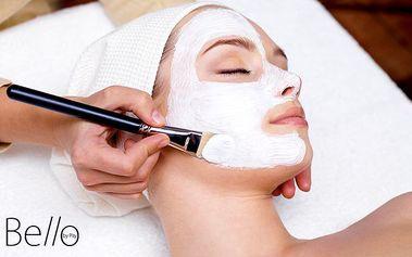 Hloubkové čištění pleti ultrazvukovým přístrojem s kosmetickou AHAVA v salonu Bello