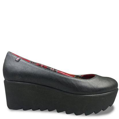 Dámské černé boty na platformě Rock and Candy by Zigi