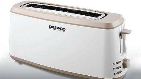 Dvouplátkový topinkovač Daewoo