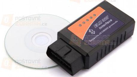 Bluetooth autodiagnostika ELM 327 V 1,5 OBD2 a poštovné ZDARMA! - 23306057