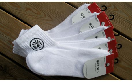 5 párů značkových sportovních ponožek Oliver za akční cenu 299 Kč! Dostupné ve všech velikostech!