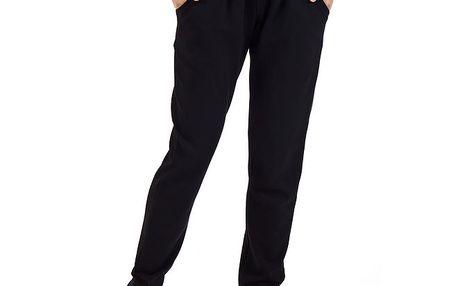 Dámské černé kalhoty SforStyle