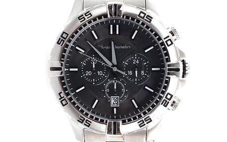 Pánské ocelové hodinky s chronografem Yves Bertelin