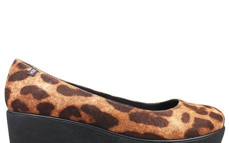 Dámské boty s leopardím vzorem Rock and Candy by Zigi