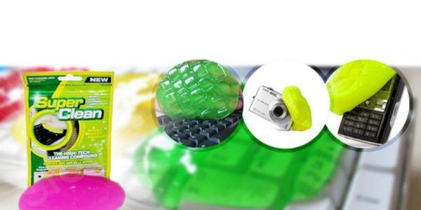 Převratná superabsorpční hmota na očištění elektroniky, především klávesnic, mobilů, notebooků a dálkových ovladačů ve třech možných barvách za pouhých 69 Kč!