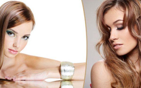 Střih a melír na všechny délky vlasů