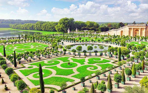 3denní poznávací zájezd do Paříže a Versailles pro 1 osobu